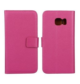 Bookwallet hoes Samsung Galaxy S6 Edge roze