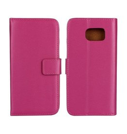 Bookwallet hoes Samsung Galaxy S6 roze