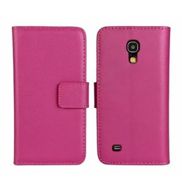 Bookwallet hoes Samsung Galaxy S4 Mini roze