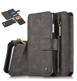Caseme Caseme luxe portemonnee hoes iPhone 7 / 8 zwart