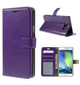 Bookwallet hoes Samsung Galaxy A7 paars