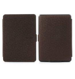 Sleepcover flip grid hoes Kindle Paperwhite 1 / 2 / 3 bruin