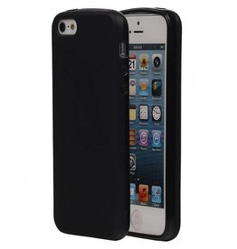 Softcase hoes iPhone SE / 5(s) zwart