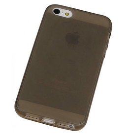 Softcase hoes iPhone SE / 5(s) grijs