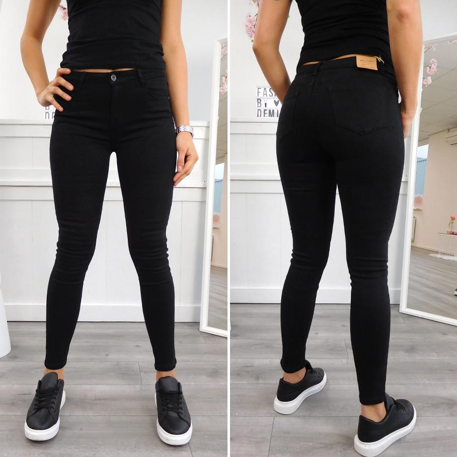 Soft Jeans Zwart