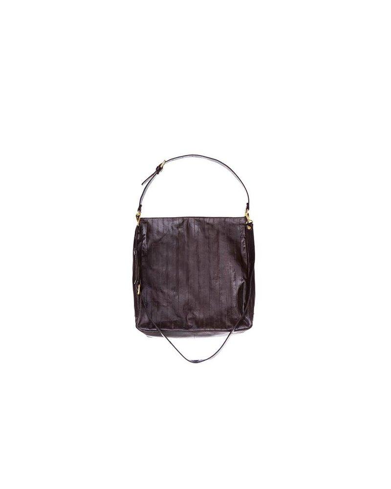 Cleopatra handbag dark brown - Copy