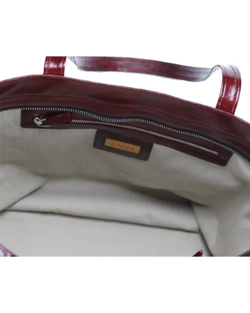 Sophie Shopper Burgundy