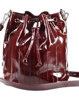 JUNGMI Zerlina bucket bag Burgundy