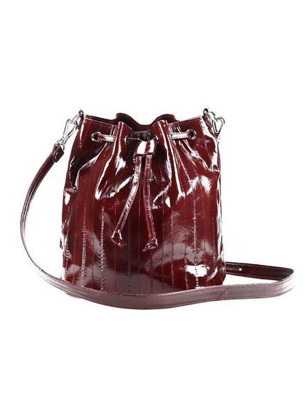 JUNGMI Zerlina bucket bag Burgundy
