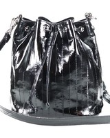 JUNGMI Bucket bag black