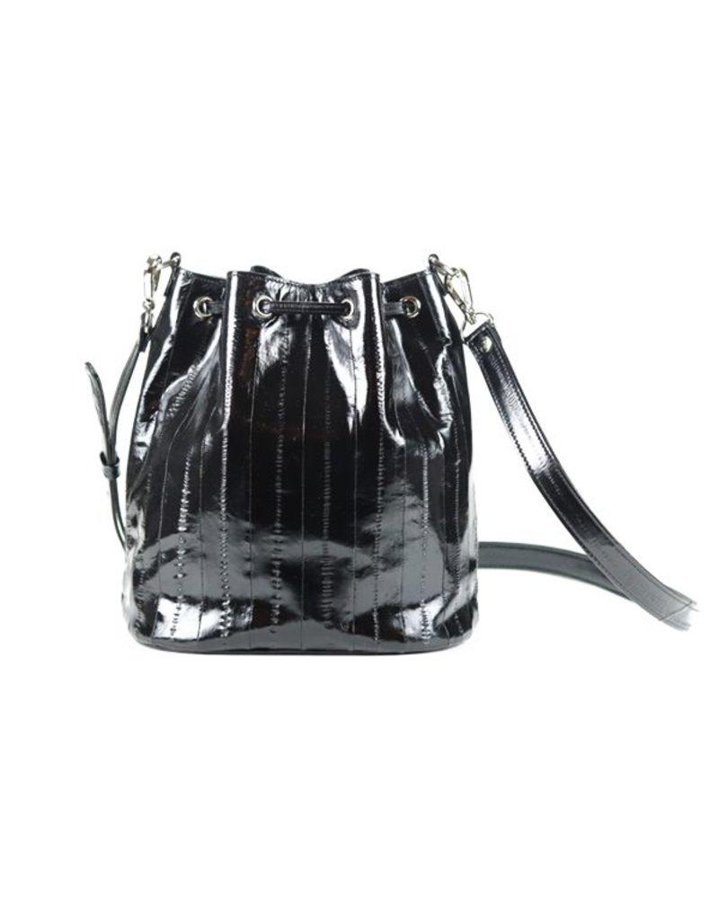 JUNGMI Zerlina medium bucket bag black