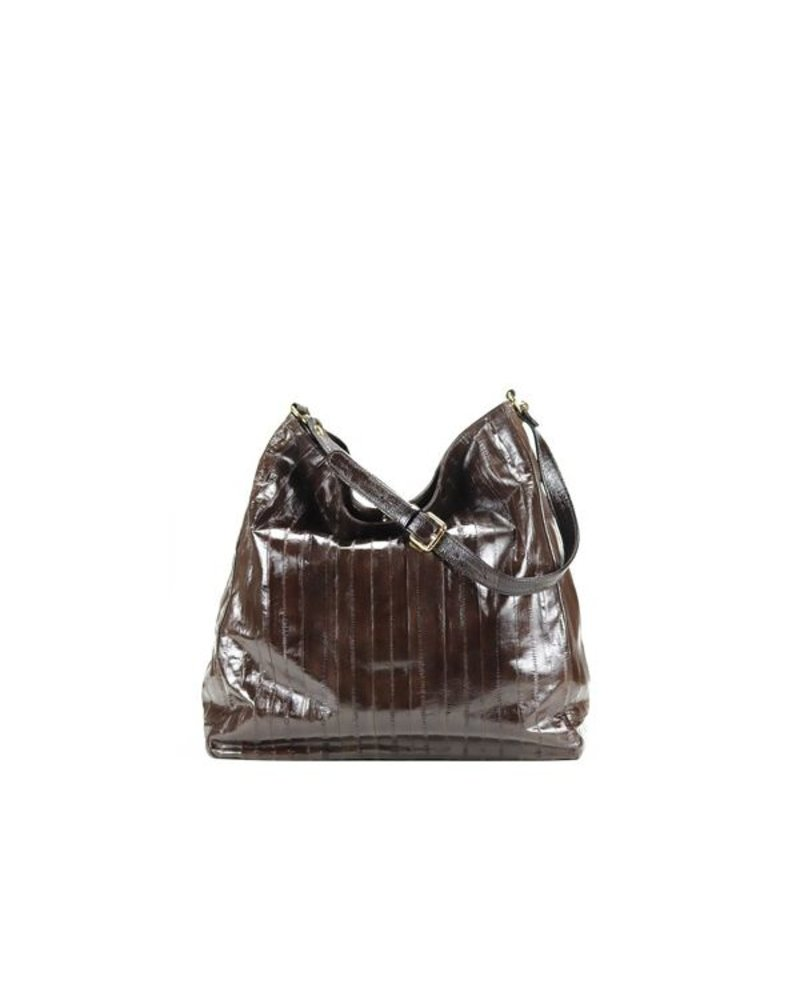 Cleopatra handbag dark brown