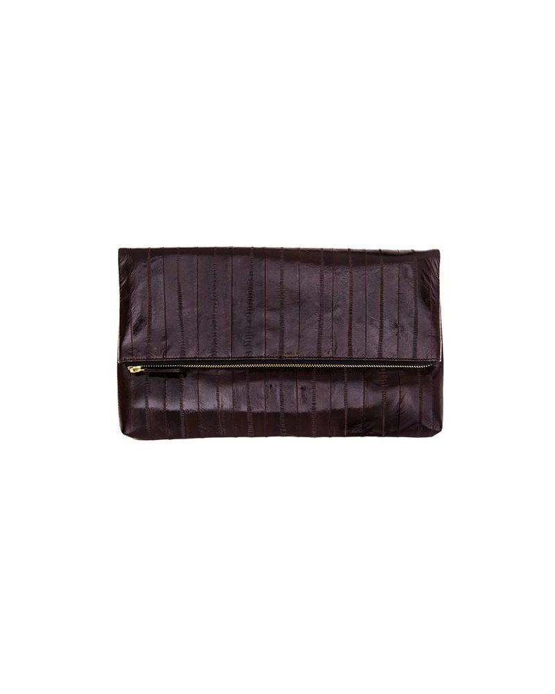 Adele Clutch coffee brown