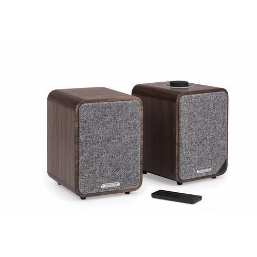 Ruark Audio Ruark Audio MR1 Mk2 draadloos stereo muzieksysteem, Rich Walnut