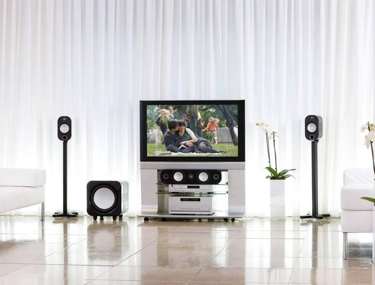 Monitor Audio Monitor Audio Apex AX10 Stands - Zwart