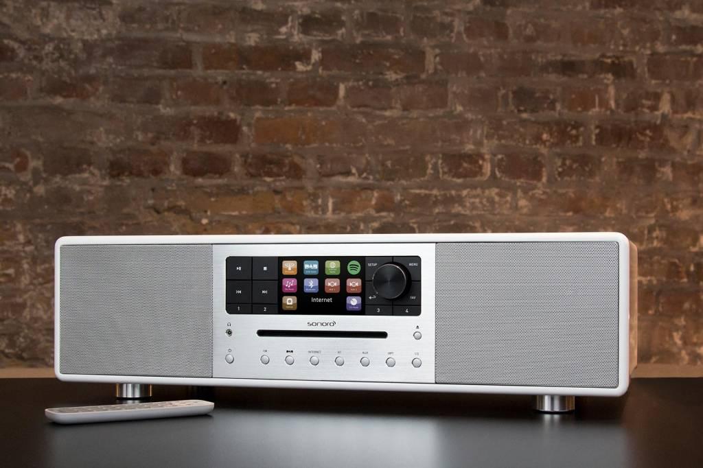 Sonoro Sonoro MEISTERSTÜCK 610 V2 - Smart Radio - Wit