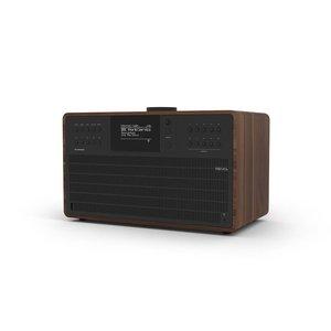 Revo SuperCD - Internetradio - Bluetooth AptX - Walnoot/Zwart