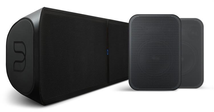 Bluesound Bluesound Pulse Soundbar + 2X Pulse Flex Surround Systeem