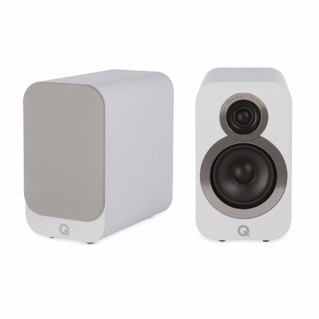 Q Acoustics 3010i - Boekenplank Luidsprekers - Wit ( per paar )