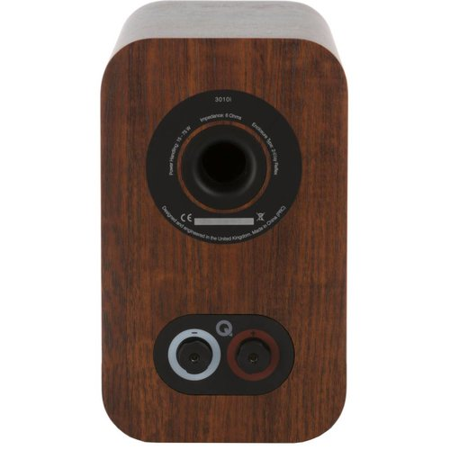 Q Acoustics Q-Acoustics 3010i - Boekenplank Luidsprekers - Walnoot ( per paar )