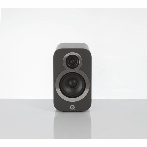 Q Acoustics Q-Acoustics 3010i - Boekenplank Luidsprekers - Grijs ( per paar )