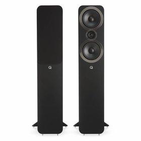 Q Acoustics 3050i - Vloerstaande Speakers - Zwart (per paar) ( 1X uit de doos geweest, geen beschadigingen )