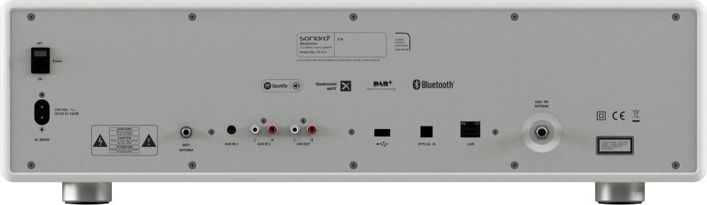 Sonoro Sonoro MEISTERSTÜCK V2 - Smart Radio - Wit