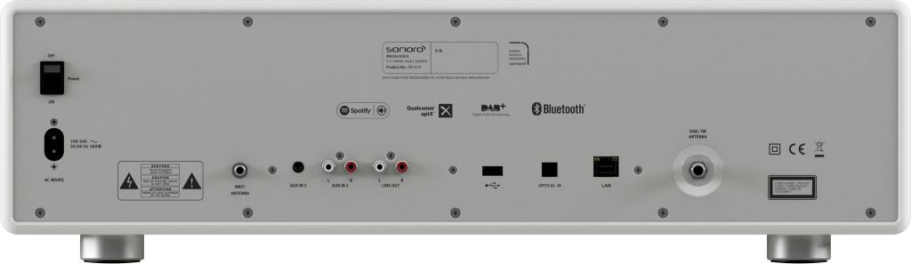 Sonoro Sonoro MEISTERSTÜCK Wit - Smart Radio | All-in-one muzieksysteem