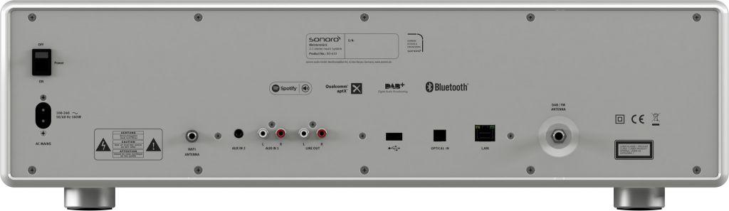 Sonoro Sonoro MEISTERSTÜCK V2 - Smart Radio - Zilver