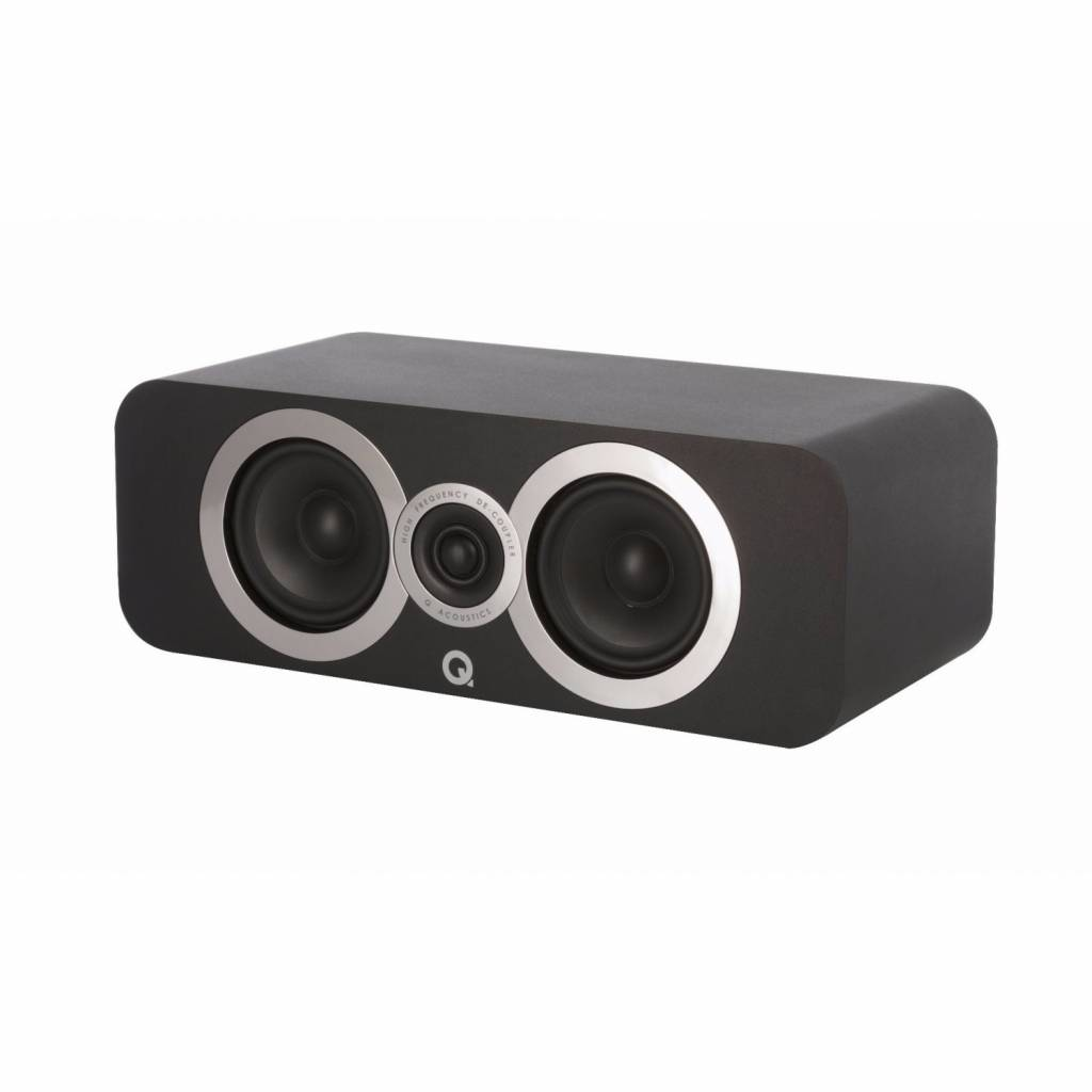 Q Acoustics 3090Ci - Center Speaker - Zwart