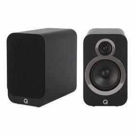 Q Acoustics 3020i - Boekenplank Luidsprekers - Zwart ( per paar )