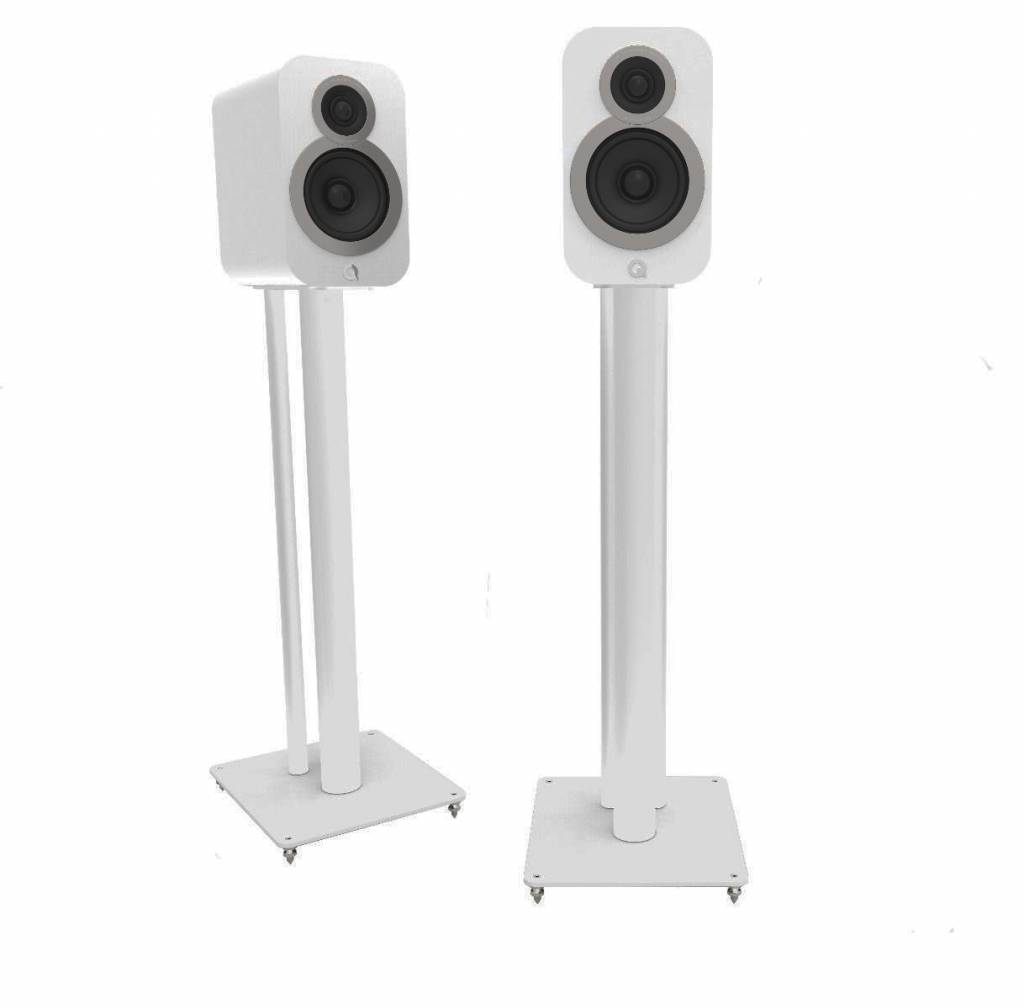 Q Acoustics 3000i Stands - Satijn Wit  (Per Paar)
