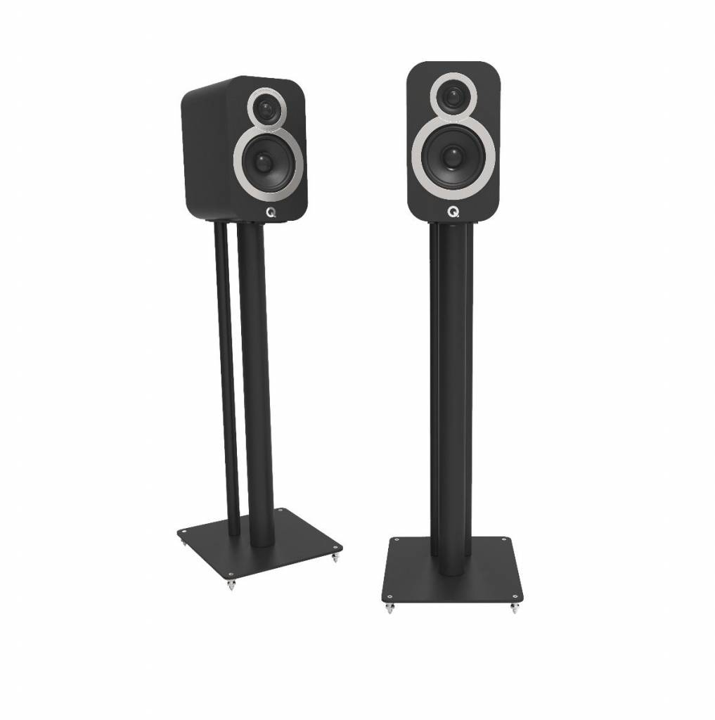 Q Acoustics 3000i Stands - Satijn Zwart (Per Paar)