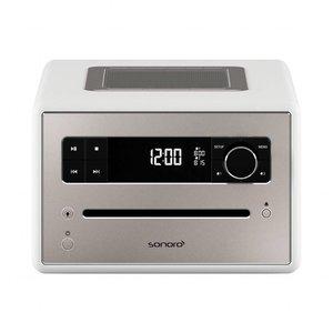 Sonoro Qubo - DAB+ Radio, CD en Bluetooth - Hoogglans Wit