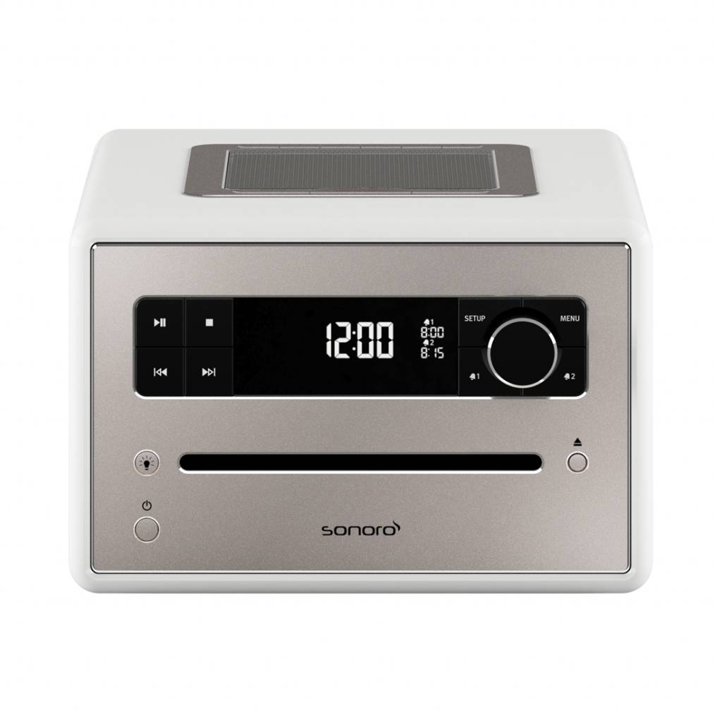 Sonoro Qubo - DAB+ Radio, CD en Bluetooth - Hoogglans Wit