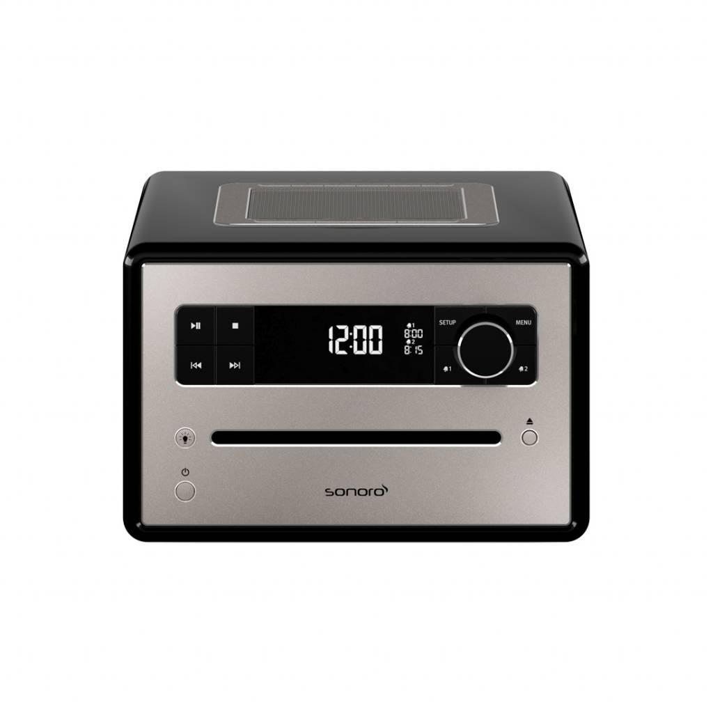 Sonoro Qubo - DAB+ Radio, CD en Bluetooth - Hoogglans Zwart