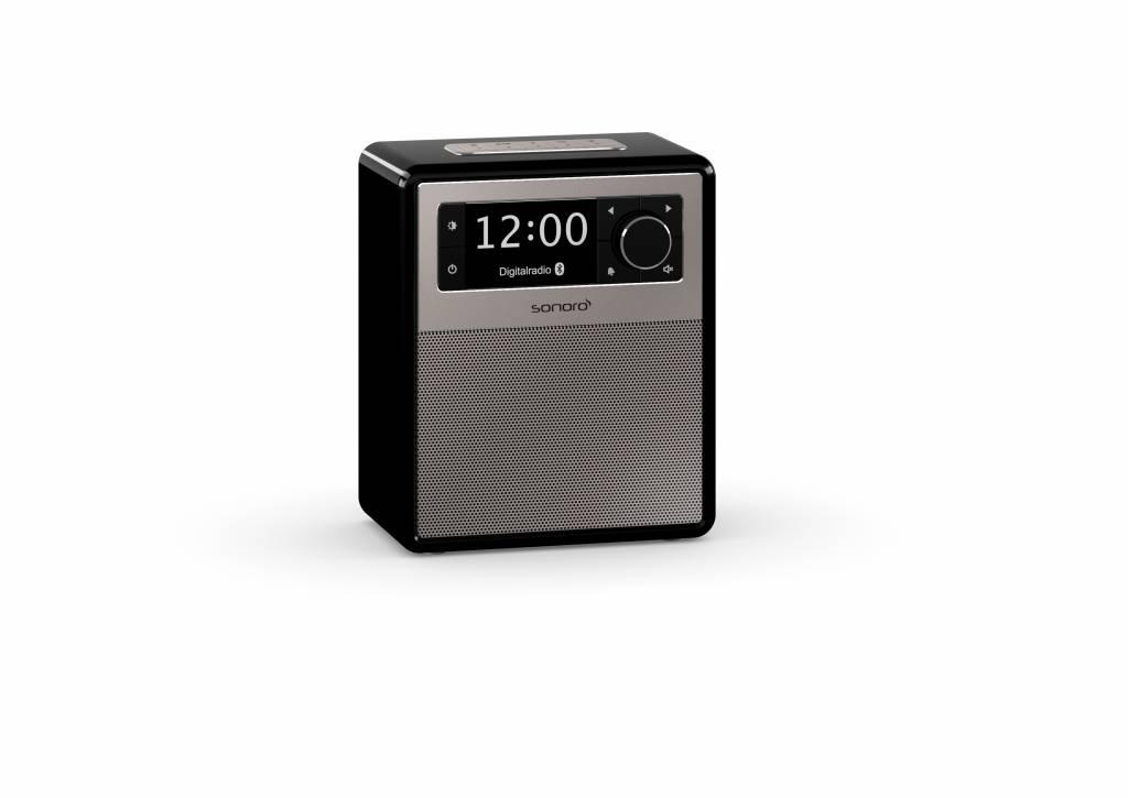 Sonoro EASY - Draagbare DAB+ Radio + Bluetooth - Zwart