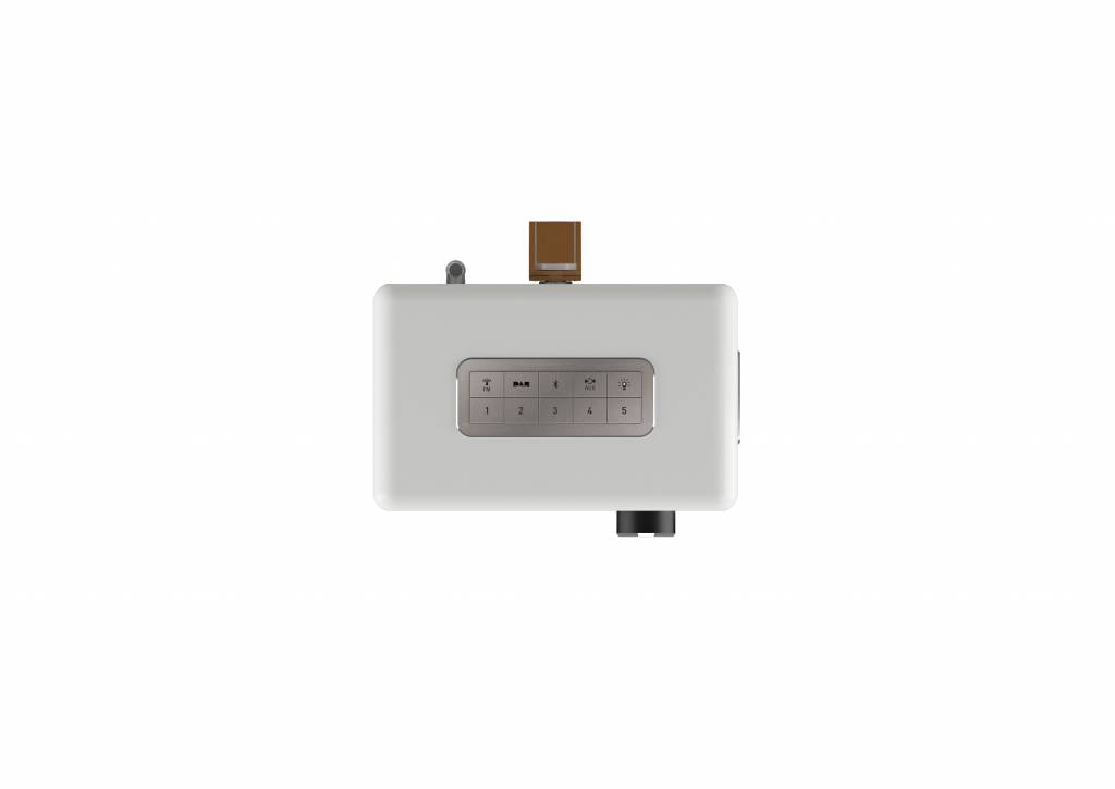 Sonoro EASY - Draagbare DAB+ Radio + Bluetooth - Wit