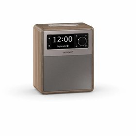 Sonoro EASY - Draagbare DAB+ Radio + Bluetooth - Walnoot