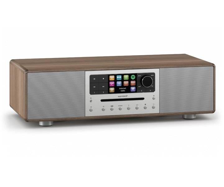 Sonoro MEISTERSTÜCK V2 - Internet radio - CD-speler - BlueTooth - Walnoot