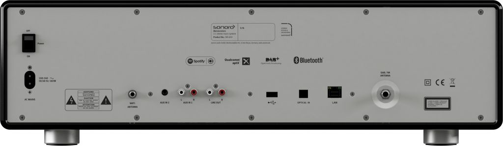 Sonoro Sonoro MEISTERSTÜCK 610 V2 - Smart Line - Zwart