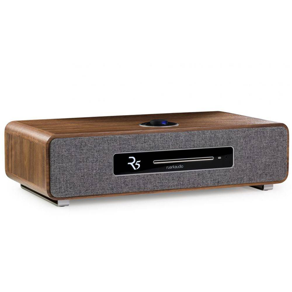 Ruark Audio  Ruark Audio R5 - CD-speler - Dab+ en Internet Radio - Walnoot