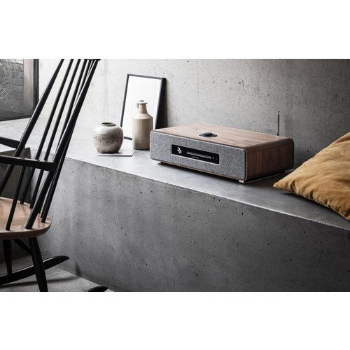 Ruark Audio  Ruark Audio R5 - CD-speler - Dab+ en Internet Radio - Walnoot