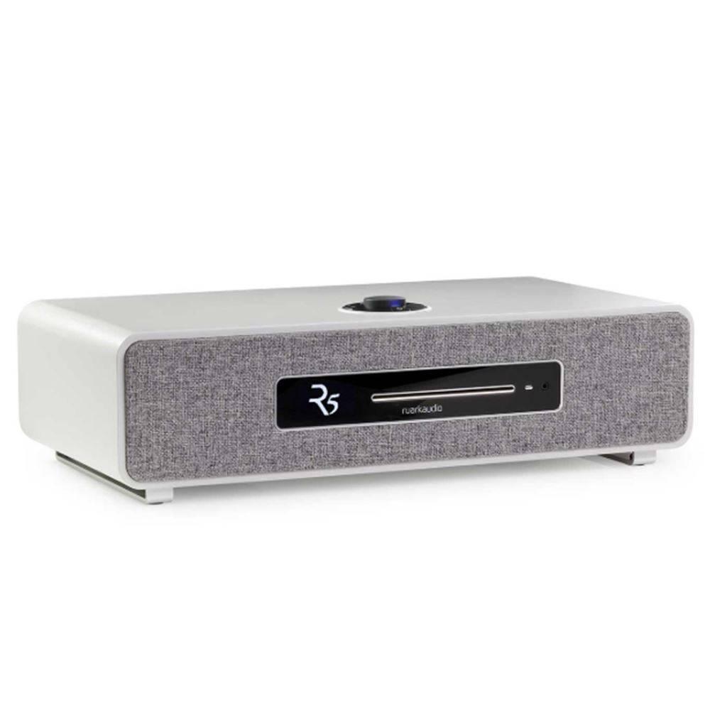 Ruark Audio  Ruark Audio R5 - CD-speler - Dab+ en Internet Radio - LichtGrijs