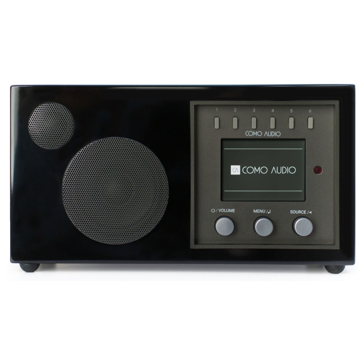 Como Audio Solo - Streaming - DAB+ en internetradio - Zwart