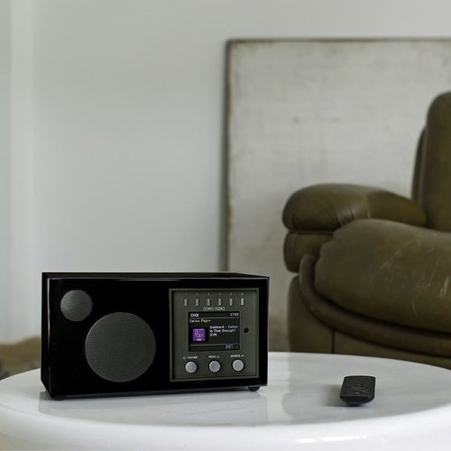 Como Audio Como Audio Solo - Streaming - DAB+ en internetradio - Zwart