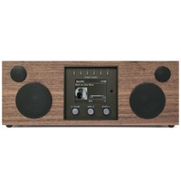 Duetto DAB + / FM-radio met internetradio - walnoot