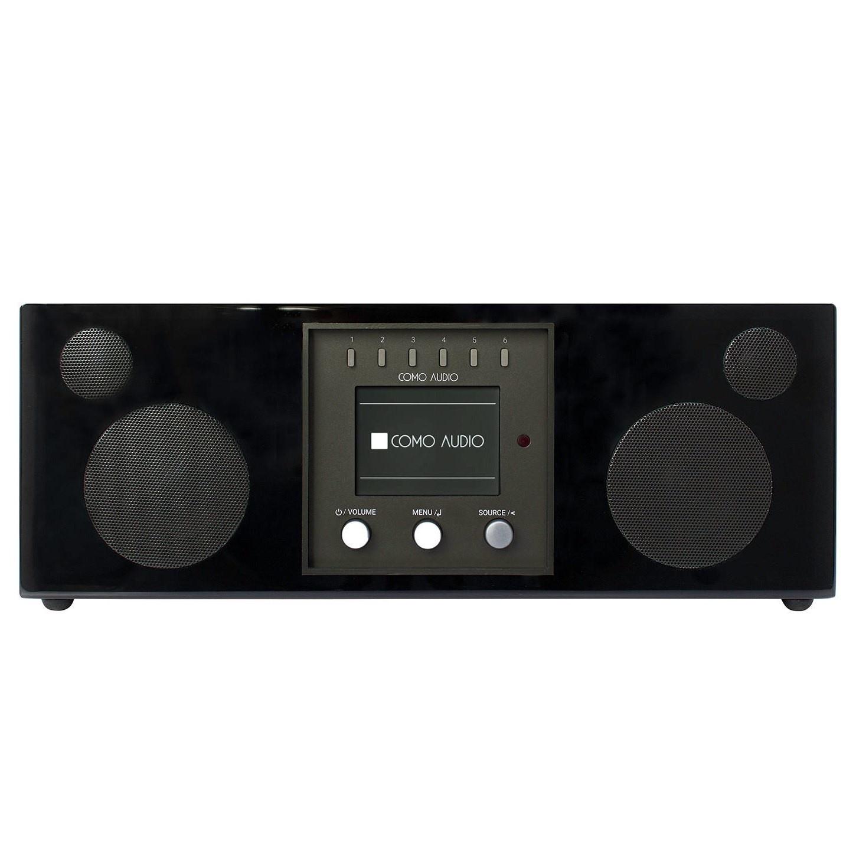 Como Audio Como Audio Duetto DAB + / FM-radio met internetradio - Zwart