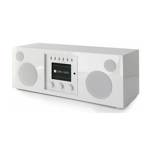 Como Audio Como Audio Duetto DAB + / FM-radio met internetradio - Wit