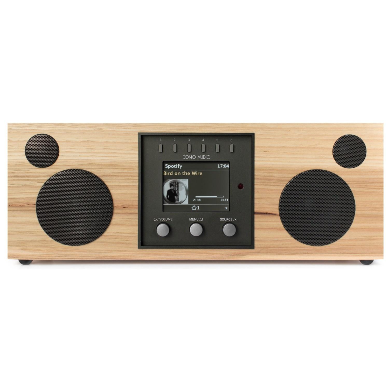 Como Audio Como Audio Duetto DAB + / FM-radio met internetradio - Hickoy